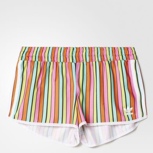 Adidas Women's Farm Tukana 3-Stripes Shorts Size Medium FREE SHIPPING AJ8159