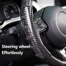 2x Carbon Fiber Non Slip Steering Wheel Booster Cover For Honda Civic Accord Crv Fits 2013 Honda Civic Si
