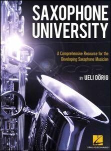 Saxophone University Sheet Music Book By Ueli Dorig A Comprehensive Resource-afficher Le Titre D'origine
