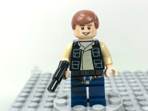 Vest with Pockets 75030 75052 NEW LEGO Star Wars Han Solo Minifigure Blue Legs