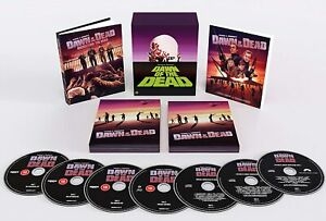 UK-Edition-New-Sealed-Dawn-of-the-Dead-4K-Limited-Edition-Box-Set-4-Art-Cards