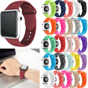 For-Apple-Watch-Series-4-3-2-1-38-42-Sport-Replacement-Silicone-Wrist-Band-Strap