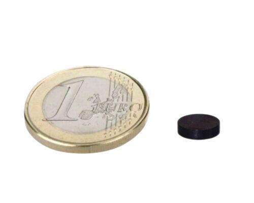 Rundmagnet Ø  8x 5mm Neodym N45 Epoxid 10 x Scheibenmagnet hält 2,5kg