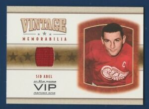 SID-ABEL-03-04-IN-THE-GAME-VIP-03-04-VINTAGE-MEMORABILIA-JERSEY-RARE-16196