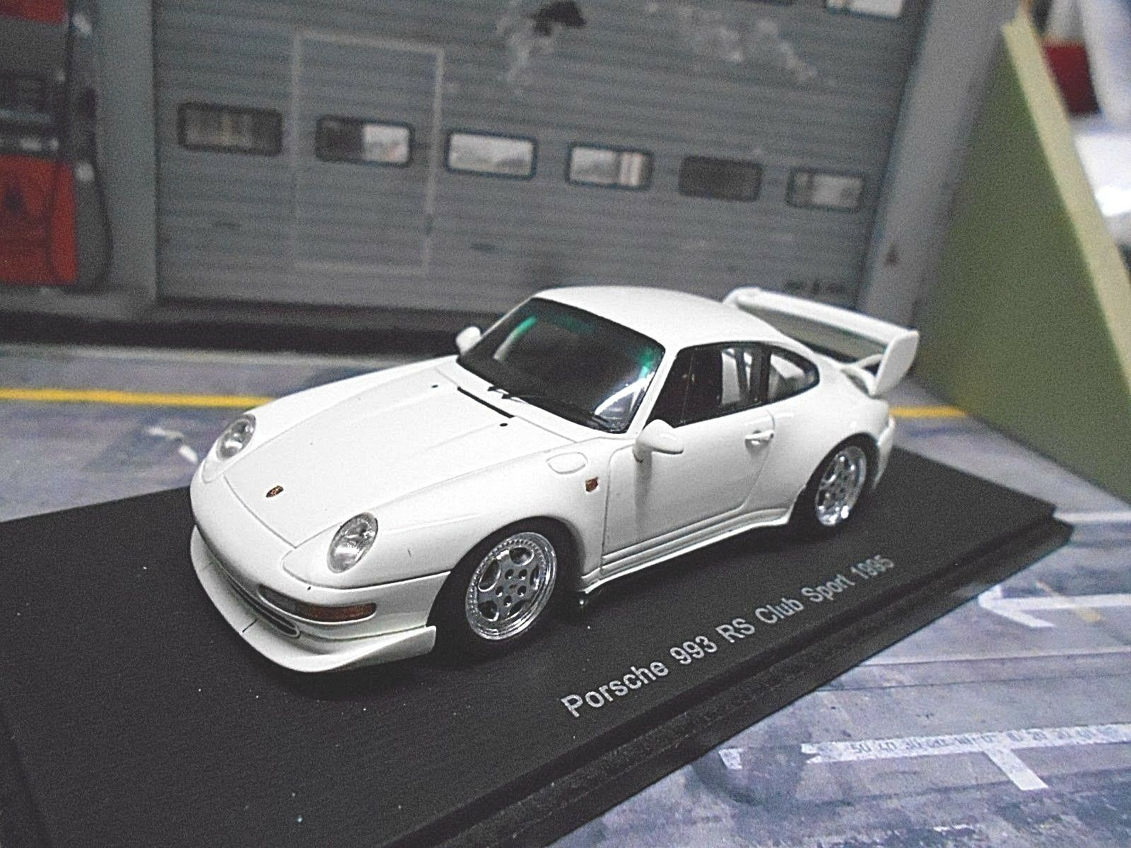 PORSCHE 911 993 Carrera RS Club Sport W 1995 Spark Resin highenddetail LIM 1 43