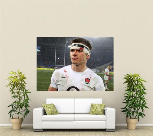 Owen Farrell England /& Lions Rugby  Giant 1 Piece  Wall Art Poster SP234