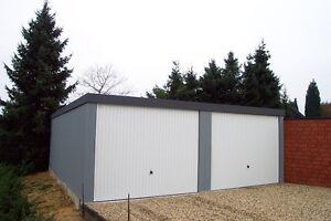 Fertiggarage 6x6m doppel garage fertiggarage 6x6m garagen fertiggaragen ebay
