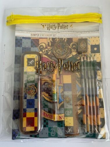 Official Harry Potter Bumper Stationery Set HP Gift