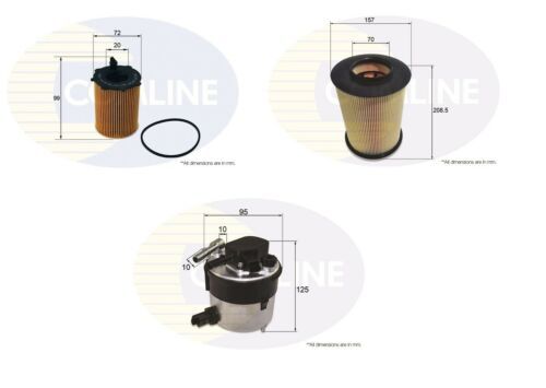 FILTER SERVICE KIT FOR FORD FOCUS MK2 04-12 AIR OIL FUEL
