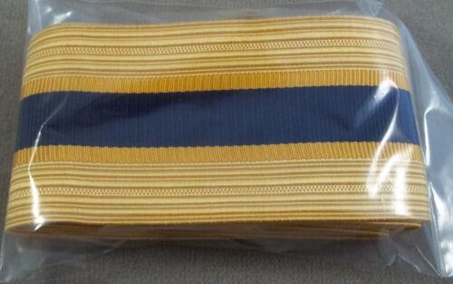 Officer Cap Braid US Army Service Uniform Chemical Corps Dress Blue