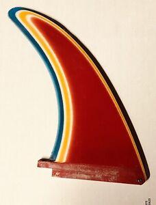 Rainbow-Fin-Vintage-Mid-70-039-s-Multi-Color-039-s-Surfboard-Fin