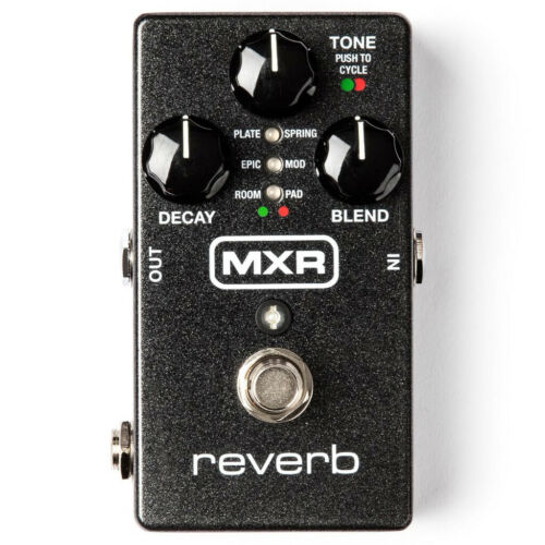MXR M300 Ambient Modulated Plate Spring Reverb Pedal w// Expression