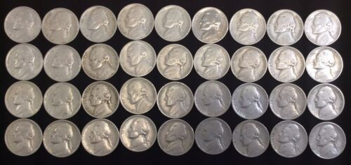1938-S Jefferson Nickel Lot selling per Coin