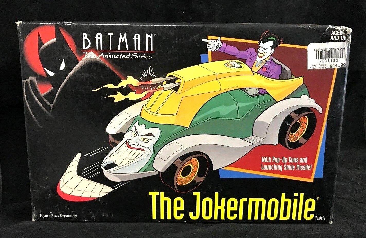 Kenner 1992 batman  der animierten serie der jokermobile nip noch verschlossen.