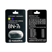 Nagaoka BN-7 Black Cartridge Mounting Screw Kit