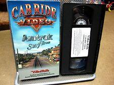 AMTRAK SURFLINE Cab Ride Video VHS train ride 1994 California coast GE P32-8BW