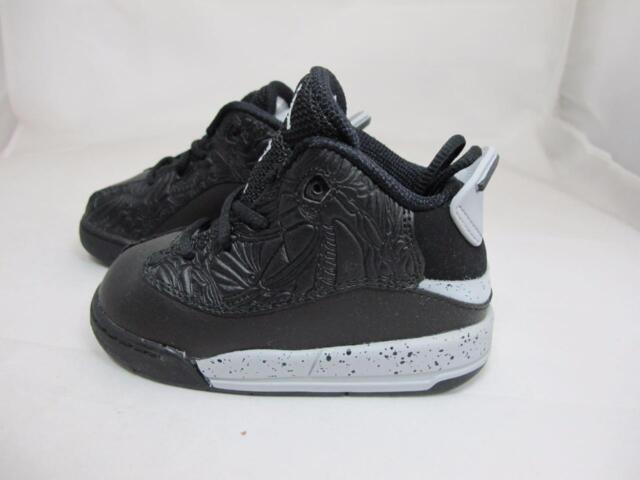 Buy Kids Air Jordan Dub Zero TD Oreo Black White Wolf Grey 311072 ... e7a083b0b4df