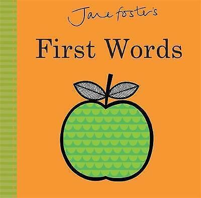 Jane Foster's - First Words by Jane Foster (Hardback, 2016)