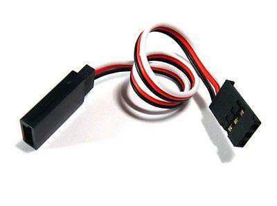 30cm Ultra Lite Servo Extension Lead Spek JR Futaba UK