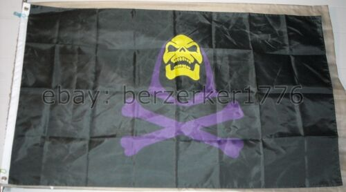 Skeletor Pirate He-Man and the Masters of the Universe 3/'x5 Flag MOTU USA Seller