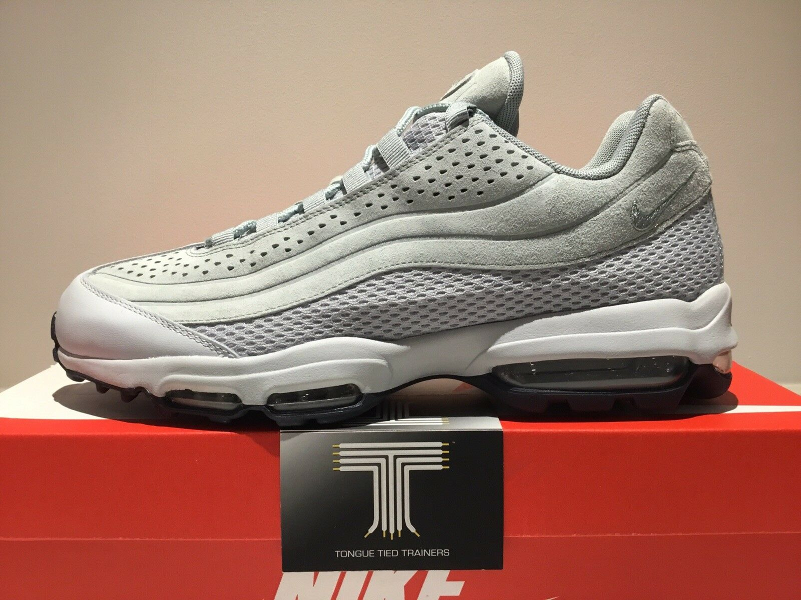 Nike air max max max 95 ultra premium br - ao2438 001 - größe 9. dc1e77