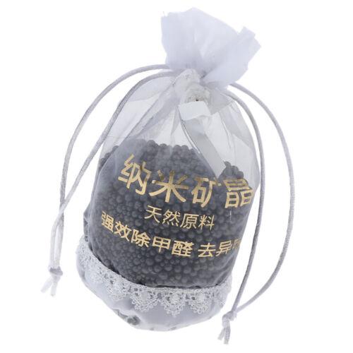 odeur naturelle à 100/% pour voiture Sac de charbon de bambou nano activé