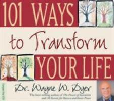 101 Ways to Transform Your Life by Wayne W. Dyer (2004, CD, Unabridged)