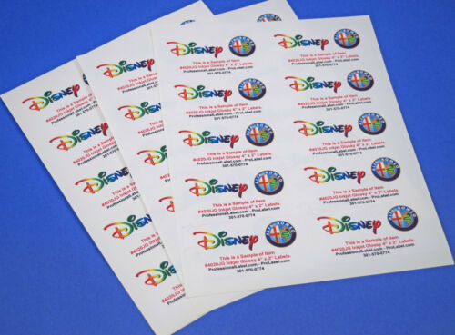 25 sheets Inkjet Photo Quality Glossy 4 x 2 Inch labels #4020JG