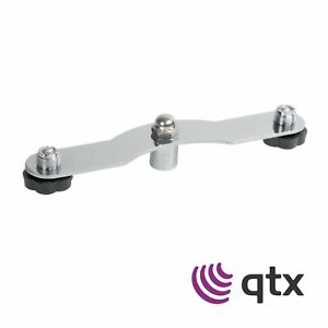 QTX-Dual-Twin-Mount-Microphone-Bar-Adaptor-For-Stereo-Miking-On-One-Stand