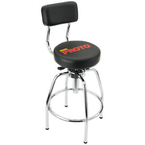 Admirable Details About Proto Jfc1011 44 Inch Black Heavy Duty Metal Comfortable Adjustable Shop Stool Creativecarmelina Interior Chair Design Creativecarmelinacom