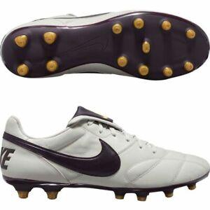 Details about Nike Premier II FG Light Bone Burgundy Ash Cleat Soccer Shoes