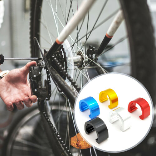 5 x Vélo C-Clips De Frein Câble Guide housing Tuyau Boucle