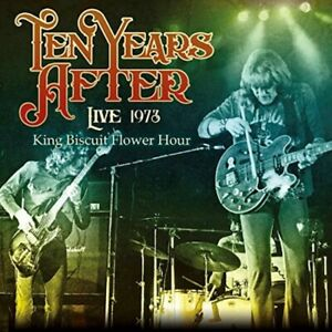 Ten-Years-After-Live-1973-King-Biscuit-Flower-Hour-Import-CD-Japan-OBI