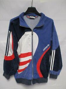 Détails sur Veste ADIDAS vintage style challenger laser sport oldschool jacket 162 XS D 3