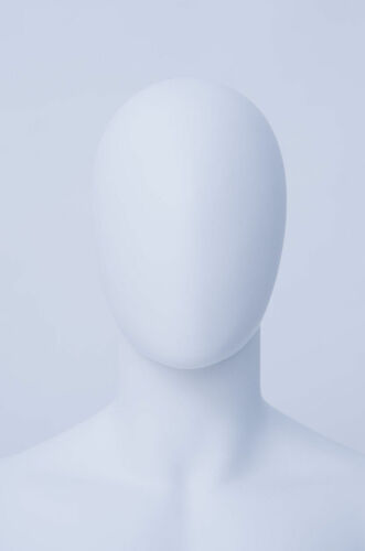 Schwarz Weiß Neu Männlich Abstrakte Schaufensterpuppe Egghead Holzarme Hände