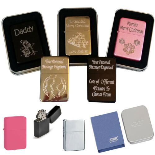 Personalised Lighter Christmas Gifts Daddy Grandad Dad Brother Friend Mum Nanna