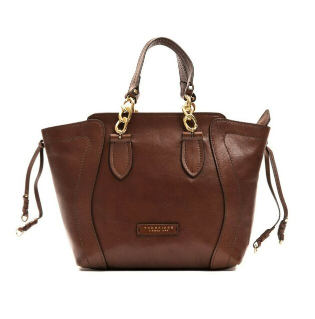 51b14190eb Borsa a mano THE BRIDGE Hand bag con tracolla regolabile chiusura zip donna  woma