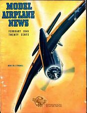 Model Airplane News Magazine February 1946 Ryan FR-1 Fireball GD 040717nonjhe