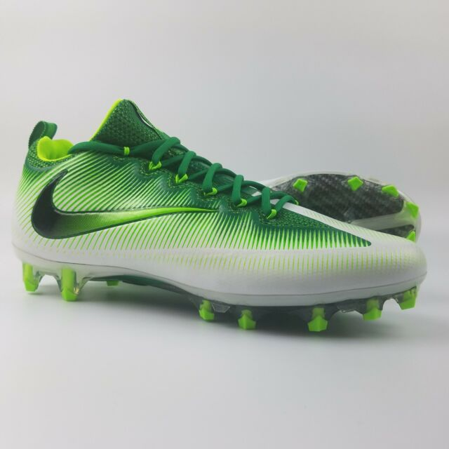def3558777b Nike Vapor Untouchable Pro VPR Football Cleats Men s Size 11.5 Green White  Volt