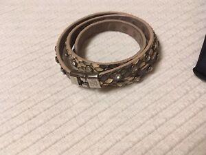 Kleidung & Accessoires Damen-accessoires Roberto Mantellassi Armband Mit Swarovski Steinen & Silberner Schließe Neu & Ovp