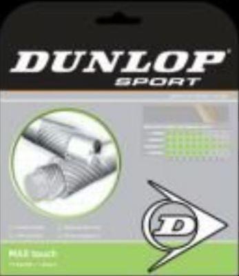 (0,60 €/m) Dunlop Max Touch Ibrida 1,22 Mm 13,1 M Corde Tennis-mostra Il Titolo Originale Pacchetto Elegante E Robusto