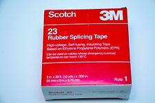 "2"" SCOTCH 3M '23' RUBBER SPLICING TAPE * HIGH-VOLTAGE__SELF-FUSING__INSULATING"