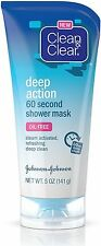 CLEAN - CLEAR Deep Action 60 Second Shower Mask 5 oz