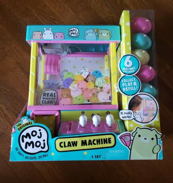 MGA Entertainment 555520 Moj Moj Squishy Toys Claw Machine ...