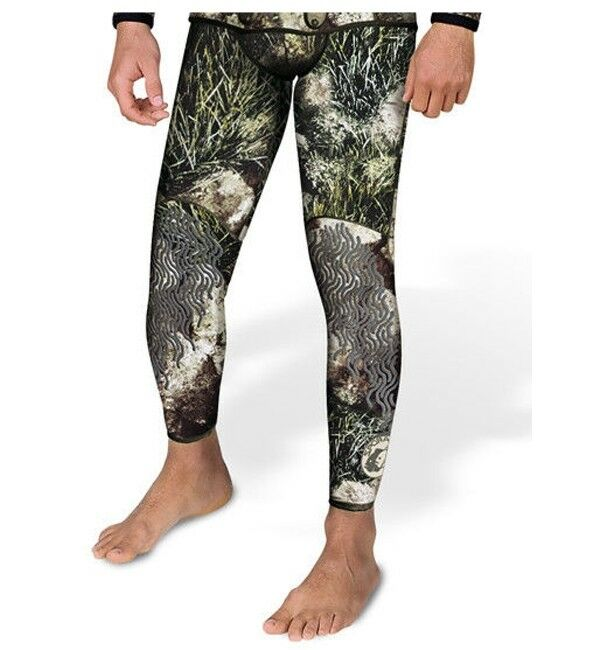 Sporasub 3mm Sea Green Camo Wetsuit  Pant Only Mens 2XL Spearfishing Scuba Diving  cheap wholesale