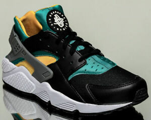 44e03ee534a52 Image is loading Mens-Nike-Air-Huarache-318429-018-Black-White-