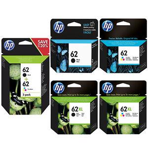 HP-62-Combo-62XL-Noir-amp-Tricouleur-Cartouche-d-039-encre-pour-ENVY-5640-e-AiO