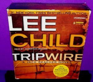 Jack-Reacher-Ser-Tripwire-by-Lee-Child-Audio-CD-Unabridged-edition-B559