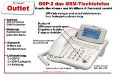 GSM Tischtelefon Jablotron GDP-02, Ferienwohnung, Baustelle, Hotel, Altersheim