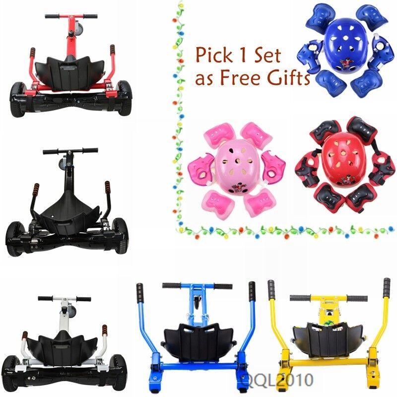 Self Balance Board Scooter Adjustable Hover Cart Go Kart Seat for 6.5  8  10  US